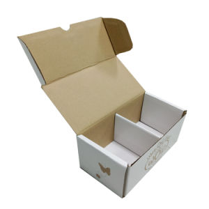 Small Glod Printing Box with Inserts pictures & photos