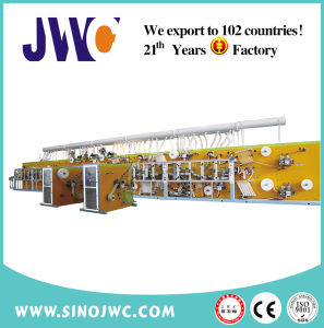Full Servo Quick-Easy Package Sanitary Napkin Pad Machine (JWC-KBD-SV) pictures & photos