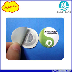 Hot Selling 25mm Round NFC Ntag213 Sticker pictures & photos