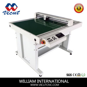 Automatic Flatbed Die Cutter High Precision Cardboard Cutter with Vacuum Table pictures & photos
