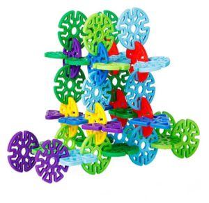 Children Geometric Snowflakes Building Block Toy pictures & photos