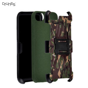 Camouflage Combo Slim Hard Shell Layer Holster Kickstand Locking Belt Swivel Clip Case for iPhone 8 Plus pictures & photos