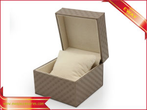 Luxury Jewelry Boxes PU Packing Ring Jewelry Boxes pictures & photos