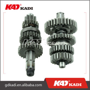 Eco100 Motorcycle Transmission Set Main and Counter Shaft for Motorcycle Parts pictures & photos