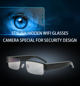 HD WiFi Mini Camera Eyewear Glasses 1080P Video Recorder pictures & photos
