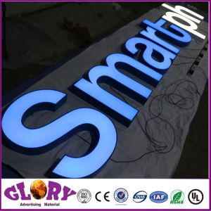 Illuminated Sign LED Epoxy Resin Letters Shop Frontlit Letter Sign pictures & photos