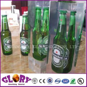High Glossy Transparency Crystal Polyester Resin Display pictures & photos