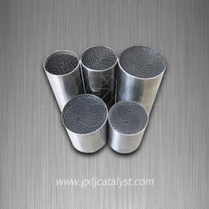 Uncoated Metallic Honeycomb Catalytic Carrier Substrate pictures & photos