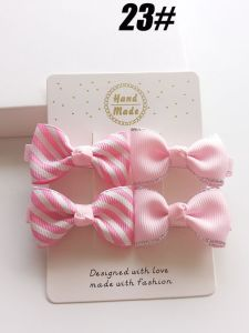 2017 Wholesale Fashion Baby Hair Ornaments Hairpin Bowknot Hair Clip pictures & photos