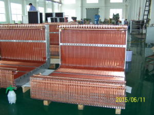 7mm Screwed Copper Tube R744 Louvered Fin Heat Exchanger pictures & photos