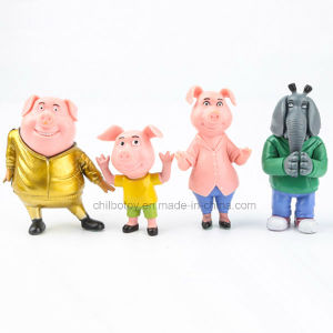 Various Little Cartoon Plastic Resin Figurines Toy pictures & photos