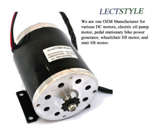 36V 750W Chain Driven Permanent Magnet DC Electric Motor with Bracket on Scooter or Trike pictures & photos