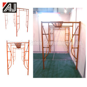 Q235 Guangzhou Steel Frame Scaffolding for Building Construction Project pictures & photos