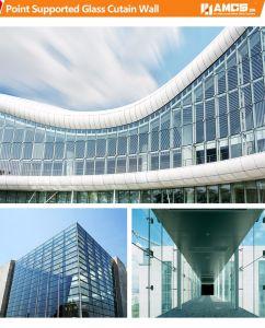 Commercial Morden Building Exterior Aluminum Panel Aluminum Frame Glass Curtain Wall pictures & photos