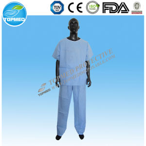 Hospital Medical Scrub Suit for Men pictures & photos
