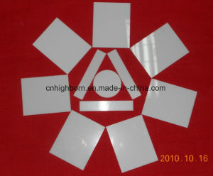 Laser Cutting Electric Insulation 96% Al2O3 Alumina Ceramic Substrates pictures & photos
