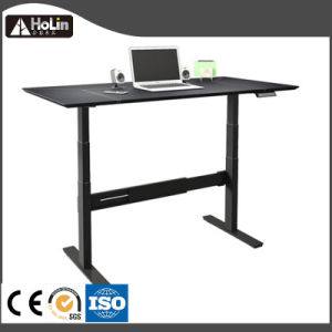Electric Office Standing Computer Desk with Height Adjustable pictures & photos