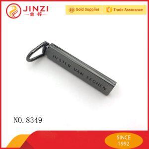 Quality Black Color Fancy Logo Zipper Pulls pictures & photos