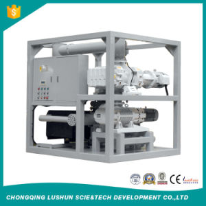 High Quality No Noise Double Stages Roots Pump and Rotary Vane Transformer Vacuum Pump Set, Transformer Vacuum Evacuation Machine (ZJ) pictures & photos