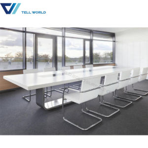 12 Person Power Outlets Solid Surface Meeting Table Designer Conference Tables pictures & photos