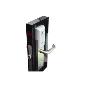 Real Time Monitoring Stainless Steel High Security Network Hotel Electronic Mortise Wireless Door Lock with Smart Card (L527-W) pictures & photos