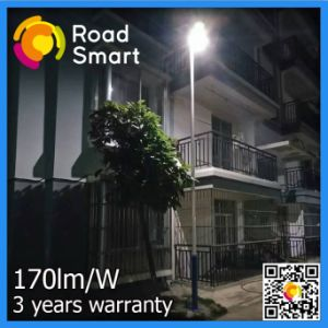 2017 New 210lm/W Integrated Solar LED Street Garden Lighting pictures & photos