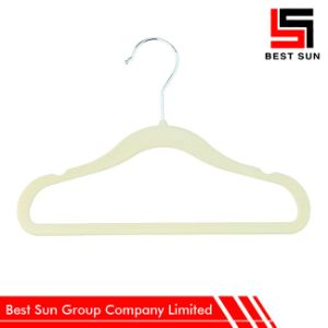 Velvet Hanger Clothes, Non Slip Hangers Wholesale pictures & photos