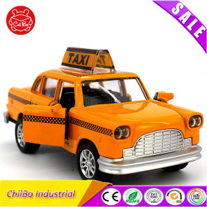 Zinc Alloy and ABS Mini Taxi Musical Toy Car pictures & photos
