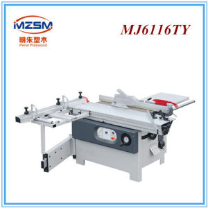 Mj6132ty Model Wood Saw Cutting Machine Sliding Table Panel Saw Wood Cutter pictures & photos