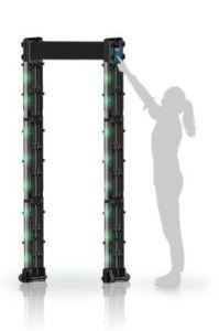Touch Screen Portable Door Frame Metal Detector pictures & photos