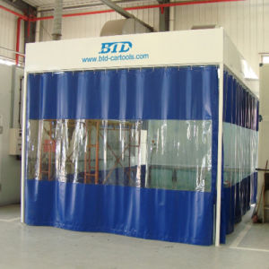 German Design Industrial Retractable Paint Booth pictures & photos