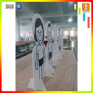 Promotion Cmyk Full Color Printed PVC Sign pictures & photos