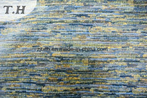 2016 Ocean Color High-Grade Chenille Jacquard Fabrics for Countries to Customer pictures & photos