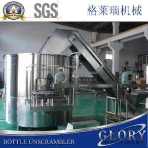 Full Automatic Bottle Unscrambler Machine with Bottle Elevator pictures & photos