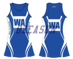 Latest Design Printed OEM Service Netball Dresses pictures & photos