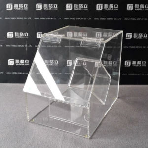 Supermarket Supply Acrylic Storage Box for Chocolate Candy pictures & photos