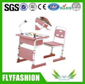 Ajustable New Style School Single Desk with Chair (SF-16S) pictures & photos