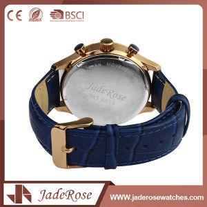 Custom Fashion Vintage Unisex Leather Quartz Watches pictures & photos