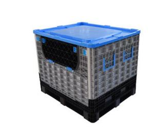 Large Plastic Pallet Container Folding Bins Collapsible Container pictures & photos