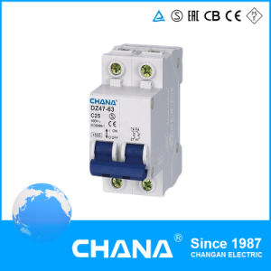 Ce and RoHS Approved Dz47-60 Type 4.5ka Mini Circuit Breaker pictures & photos