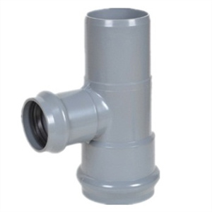 PVC Reducing Tee with Flange End DIN Standard pictures & photos