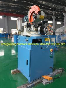 Medium Size Pipe Tube Semi-Automatic Cutting Machine Plm-Qg315nc pictures & photos