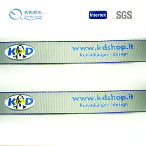 High Quality and Customized Factory Trademark Printed Webbing pictures & photos