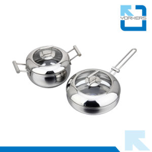 304 Stainless Steel Kitchen Sauce Pot Set pictures & photos