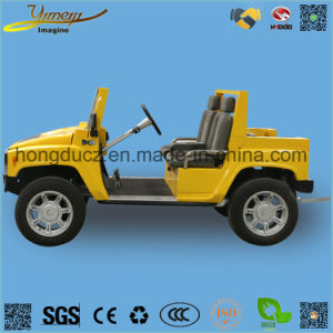 Electric 4 Seats Hummer Golf Car Good Quality SUV Jeep pictures & photos