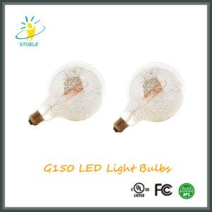 G150 E40 Chrome Silver LED Filament Decoration Light pictures & photos