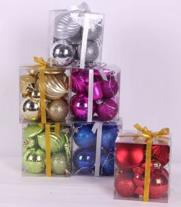 Christmas Decoration Ball in Gift Box 12PCS pictures & photos