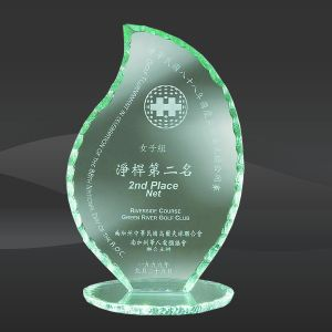 Flame Pearl Edge Glass Award (CBD-A27, CBD-A28, CBD-A29) pictures & photos