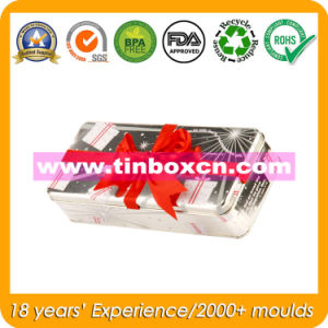 Rectangular Metal Gift Tin Box for Promotion, Tinplate Packaging Box pictures & photos