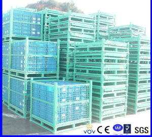 Heavy Duty Foldable Iron Wire Mesh Boxes pictures & photos